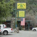 The Buckeye Tree Lodge sign, Great Location
