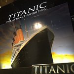 Titanic Exhibit at Luxor