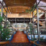 Kingfisher Bay resort interior