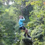 Another teen enjoying his Zip Line!