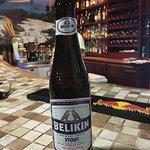 Belikin is the local Belizian beer...they have 3 varieties