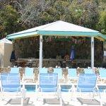 Pool and bar at the North Beach