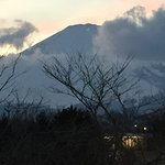 Mt Fuji visible from the Outlet