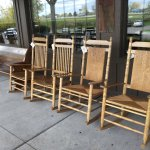 Rocking chairs for sale.