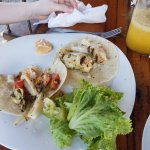 Seafood and Snapper tacos