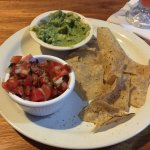 The guacamole appetizer.