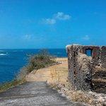 Vista y ruinas del fuerte