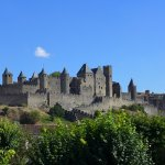arriving at carcassone
