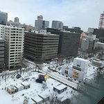For the Sapporo Snow Festival this will be the best place to stay its very comfortable and you c
