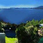 Vista panoramica al lago Nahuel Huapi