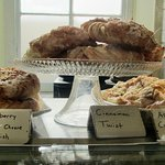 Variety of fresh pastries baked daily
