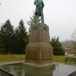 The statue of Ulysses S. Grant.