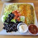 Chile rellenos, Tamarisk Restaurant, Green River, UT