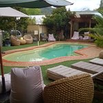 Pool and lazy chairs