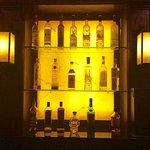 Bailey's back bar....