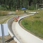 Alpine Slide- see how fast you can go!