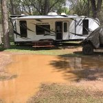 Standing water in my campsite