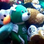 The old crane game had a UND bear in it! Love it! We dropped many quarters trying to get this!
