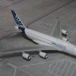 El avión más grande del mundo en miniatura.. el A380