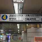 Hyewha station in Line 4