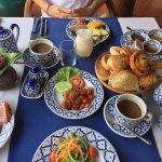 Frühstück herzhaft, westlich