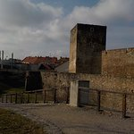 am Znaimer Turm-/Befestigungsrundgang - hier der Schießstätterturm