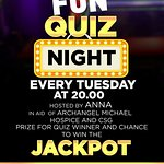 Every Tuesday Night at 20.00