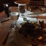 Poor lighting in the Buccaneer Resturant