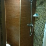Tiny - no handbasin - flooding shower