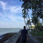 Walks along the beachside