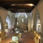Interior de la Iglesia de San Gil (Atienza)