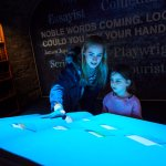 Our interactive book in our Storytelling gallery bring Irish literature to life