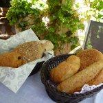 Freshly baked breads