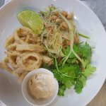Salt and Pepper Calamari- Lightly flavoured and flash friend, this dish is Amazing!