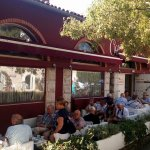 On warm days you can cool yourself on our side - shade terrace