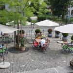 Terrasse  Kongresshaus Liebestrasse