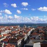 Panorama di Lisbona