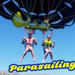 Fly with us! Parasailing over Lardos and Pefki with Rodos Water Sports Action