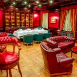 Cigar room and private dinning