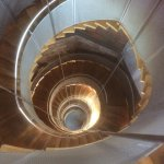 Spiral staircase to amazing view