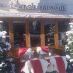 Snowy Christmas at the French Paradox