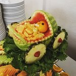 Baby Carriage Fruit Salad!