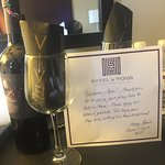 A beautiful Thank You Card!!! From Hotel Le Marais!!!!
