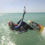 Kitesurfing start position