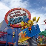 Another fun ride featuring the Simpsons