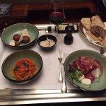 Room Service: Spaghetti, Cold Cuts and Dessert