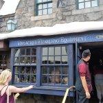 A shop inside Harry Potter.