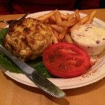 Crab Cake Platter at Koco's Pub