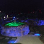 Thermal pool with bar