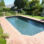 Pool area & garden. Perfect to cool down on a hot day. I think this is Penelopes pride & joy.